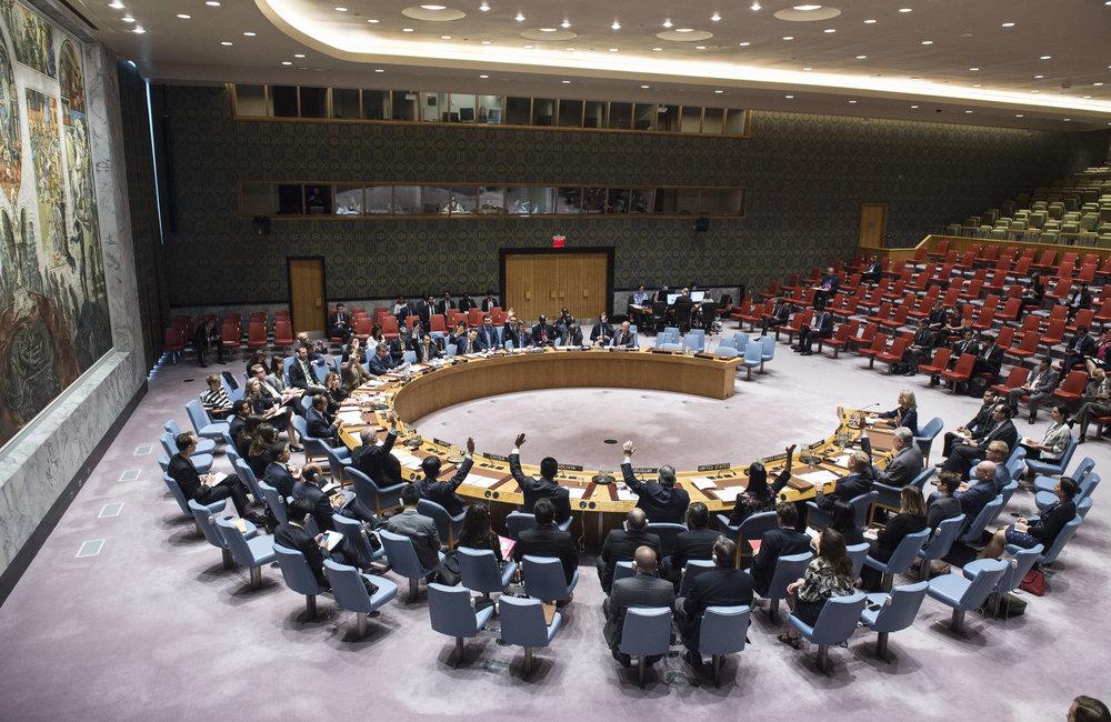 El 14 de septiembre el Consejo de Seguridad aprobó la Resolución 2377 en la que acogió el informe de recomendaciones presentado al Consejo de Seguridad el 30 de agosto.