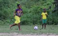 In Mandé women rule the football pitch