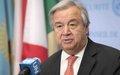 Secretario General de la ONU, António Guterres, visita Colombia.