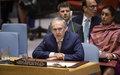 Declaración al Consejo de Seguridad del Jefe de la Misión de Verificación de la ONU en Colombia, Jean Arnault.
