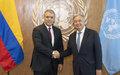 Reunión del Secretario General de Naciones Unidas con Iván Duque, Presidente de Colombia, en el marco de la Asamblea General de la ONU.