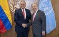 Resumen de la reunión del Secretario General con el Excelentisimo. Sr. Iván Duque Márquez, Presidente de Colombia