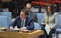 Declaración Jefe de la Misión de Verificación, Carlos Ruiz Massieu ante el Consejo de Seguridad. Octubre 10, 2019
