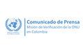 Comunicado de prensa Misión de Verificación de la ONU en Colombia.