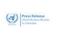 Press Release - UN Verification Mission in Colombia.
