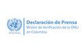 Declaración de Jean Arnault, Representante Especial del Secretario General y Jefe de la Misión de Verificación de las Naciones Unidas en Colombia