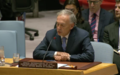 Declaración de Jean Arnault, Jefe de la Misión de Verificación al Consejo de Seguridad.