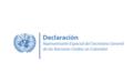 Declaración del Representante Especial del Secretario General de la ONU en Colombia, Carlos Ruiz Massieu