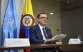 Secretario General Adjunto para Asuntos Políticos de Naciones Unidas, Jeffrey Feltman, finaliza visita a Colombia.