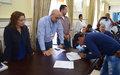 En Cauca se oficializaron dos Proyectos de Impacto Rápido para cooperativas de excombatientes