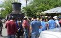 La Misión verificó garantías de seguridad durante desplazamiento de miembros de FARC en Nariño.
