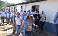 Delegados acompañaron a las comunidades de Pondores a ser testigos de los procesos de reincorporación.