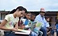 Los niños de Pondores quieren su propia biblioteca de la paz