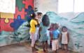 Los niños de la paz en el Caribe
