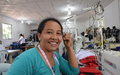 A clothing workshop that heals wounds