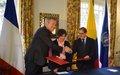 La Embajada de Francia en Colombia apoya los procesos de reincorporación de excombatientes de las FARC implementados por la Misión de Verificación de la ONU con el apoyo del PNUD