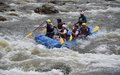 Former FARC-EP combatants certified as rafting guides in the Amazon jungles of Caquetá, Colombia