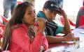 Líderes juveniles de partidos políticos visitan ETCR y dialogan con miembros del partido Farc en Cauca