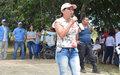 Mujeres trabajando por la equidad y progreso en La Pista.