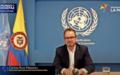 Palabras de Carlos Ruiz Massieu, Representante Especial del Secretario General, en la primera Conferencia internacional del Acuerdo de Paz en Colombia