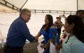 Declaraciones del Secretario General de las Naciones Unidas António Guterres a la comunidad en Mesetas – Meta.